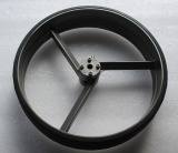 Rear wheels set for golf trolley and electric golf cart / optional: front whee included or solo front wheel